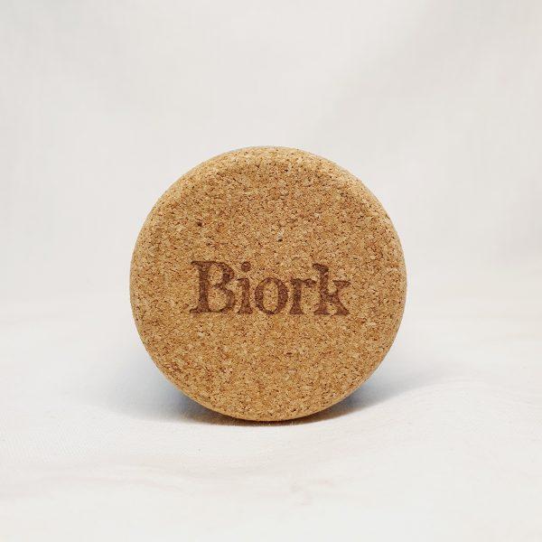 Biork krystalldeodorant - plastfri deodorant i kork - korken