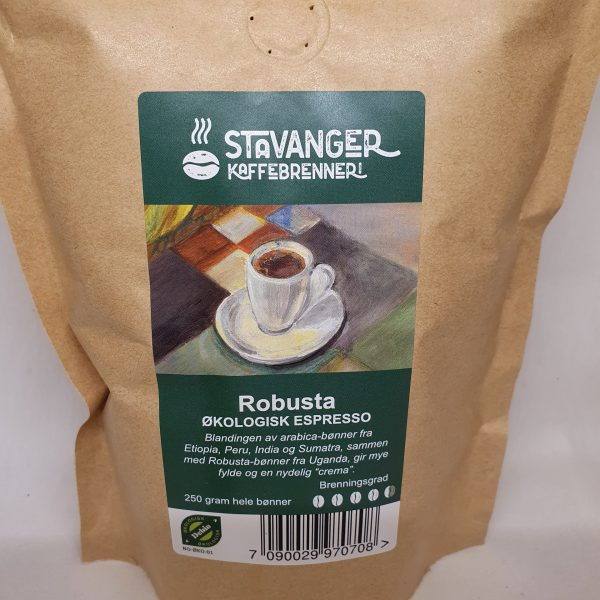 Økologisk espresso kaffe Robusta - blanding av arabica-bønner - Kaffebønner espresso - Zoom in