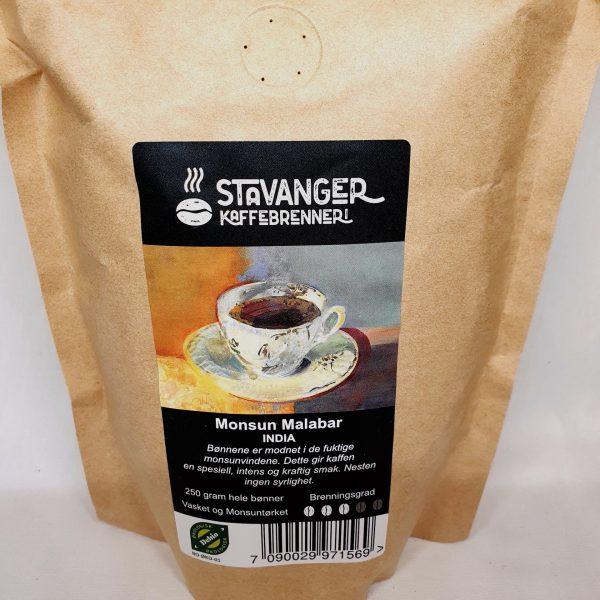 Økologisk kaffe - Monsun Malabar fra India - Kaffebønner på nett - Zoom in