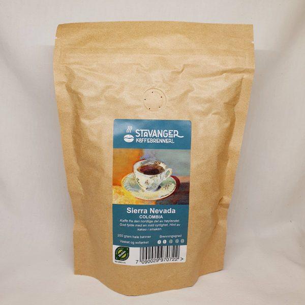 Økologisk kaffe Sierra Nevada fra Colombia - Kaffebønner - Forsiden