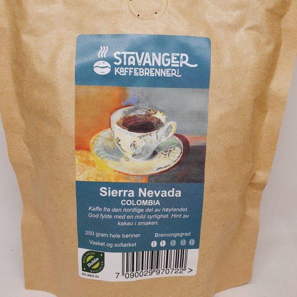 Økologisk kaffe Sierra Nevada fra Colombia - Kaffebønner - Zoom in.jpg