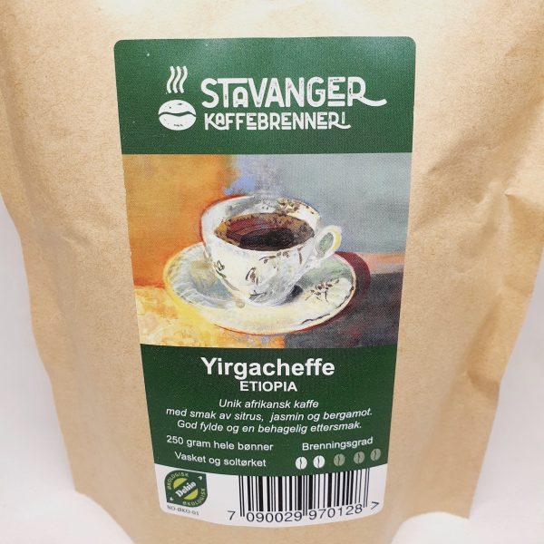 Økologisk kaffe Yirgacheffe fra Etiopia - Kaffebønner - Zoom in.jpg