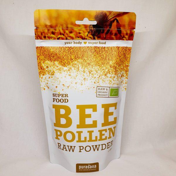 Organisk superfoods økologisk bipollen fra bier pulver fra Purasana - forsiden