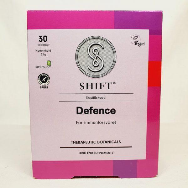 Styrke immunforsvaret med vegansk kostilkudd Defence fra Shift - Forsiden