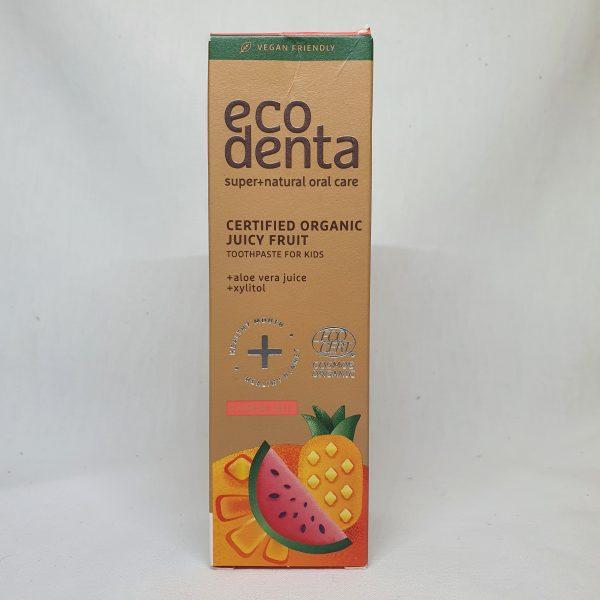 oragnisk tannkrem for barn - eco denta oral care