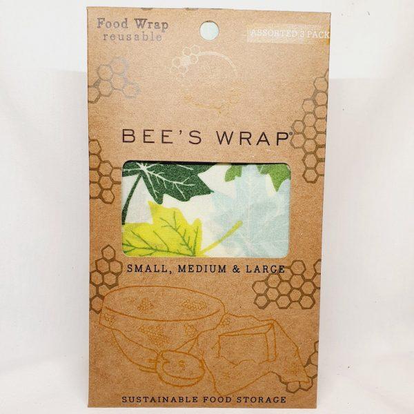 Bivokspapir 3 ark pakning Forest - Bee Wrappy beeswax wrap