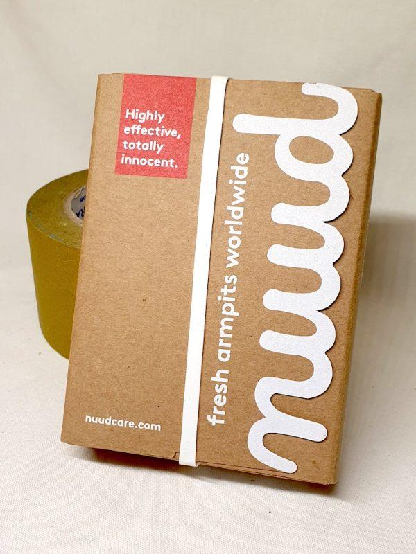 nuud deodorant - plastfri - deodorantuten aluminium og parfyme