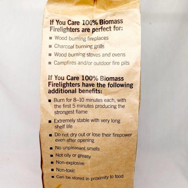Hvordan tenne Miljøvennlige tennbriketter fra If You Care