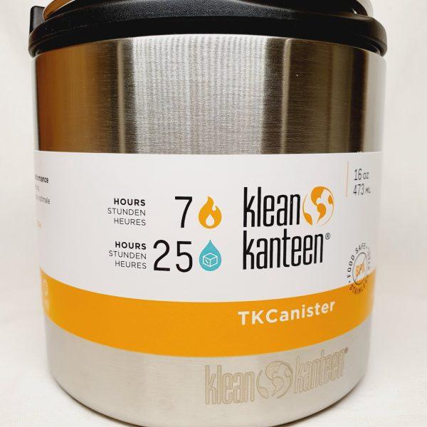 Klean Kanteen Mattermos TKCanister 473ml - Forside zoom inn