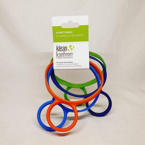 Klean Kanteen Pint Ring (4 stk) - Silikonring for å henge krus og termos på