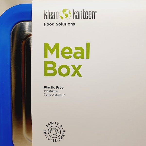Matboks fra Klean Kanteen i rustfritt stål - 1005 ml - Ovenfra - Plastfri matboks for barn og voksne