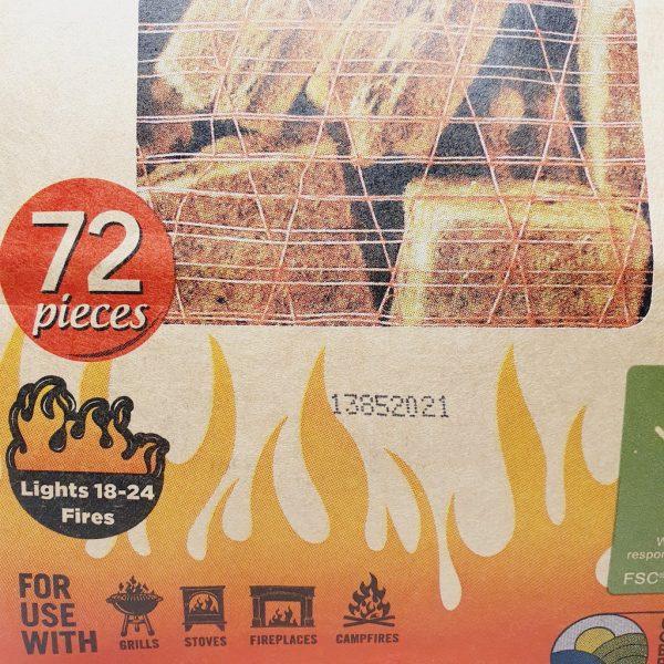 Miljøvennlige tennbriketter fra If You Care - 72 stk i en poste