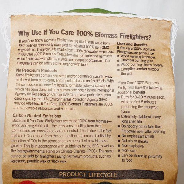 Miljøvennlige tennbriketter fra If You Care - Detaljert informasjon
