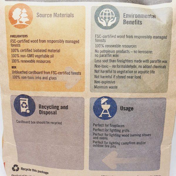 Miljøvennlige tennbriketter fra If You Care - Informasjon
