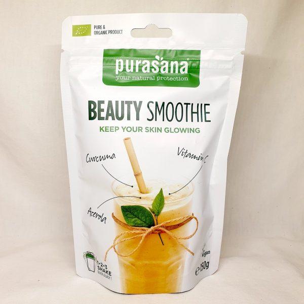 Økologisk og sunn beauty smoothie fra Purasana - Forside
