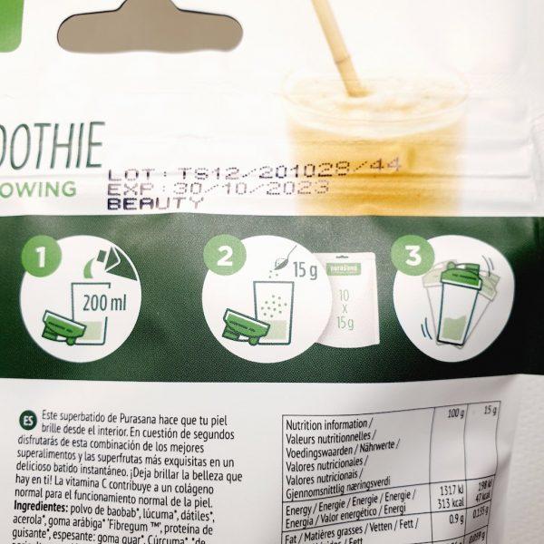 Økologisk og sunn beauty smoothie fra Purasana - Hvordan bruke
