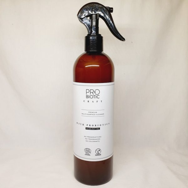Probiotic Craft Multispray 500ml - En rengjøringsspray med probiotika som passer for alle flater