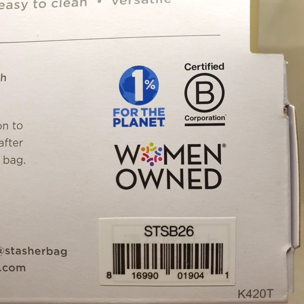 Stasher silikonpose 450 ml - Stasher bag pineapple - Women owned