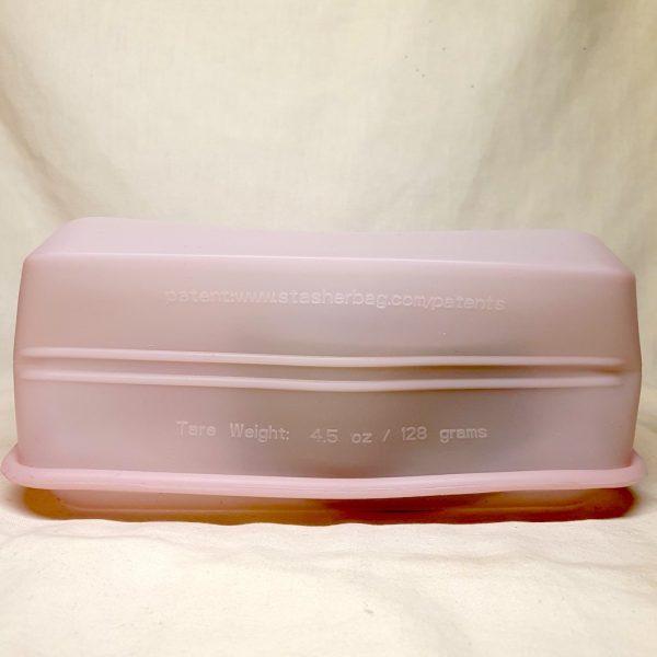 Stasher silikonpose stand up rosa quartz 1.6 liter - Bunnen