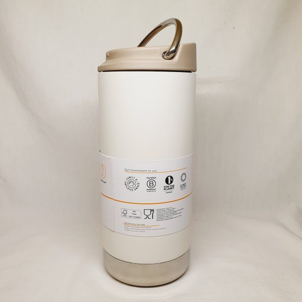 Stilig termokopp - Klean Kanteen TKWide 355 ml - Tofu - siden