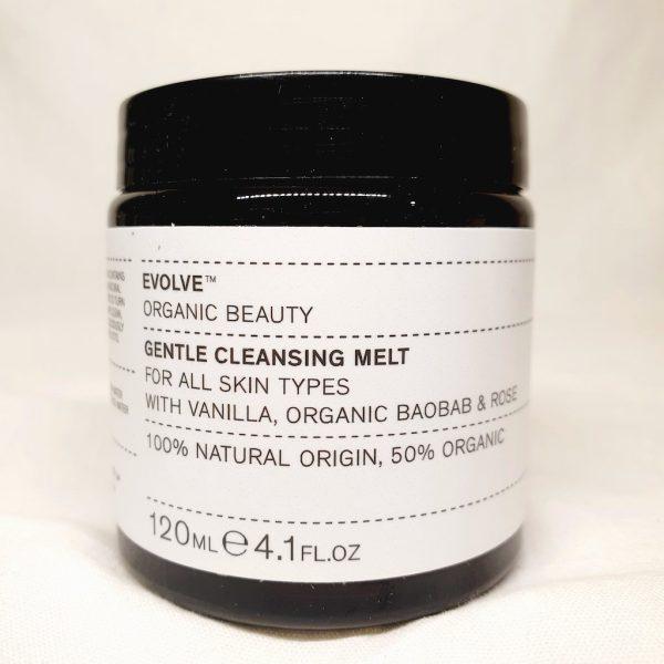 EVOLVE Gentle Cleansing Melt - Ansiktsrens med økologisk resenbalm - Forsiden av produktet