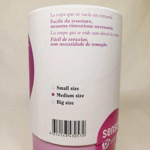 Menskopp fre Eureka Cup - Utviklet og testet av forskere - Bakside